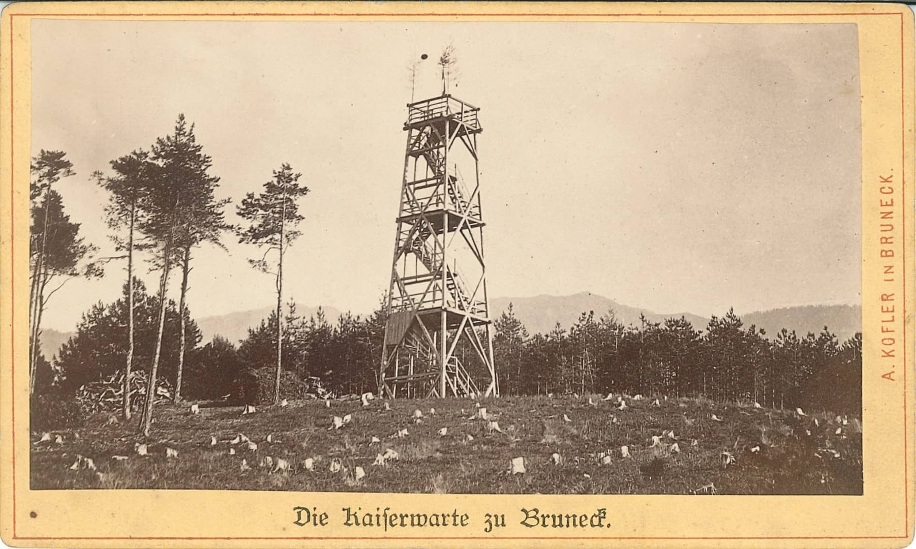La storica torre panoramica